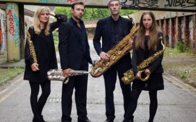 Syzygy Saxophone Quartet : 18th January 2019